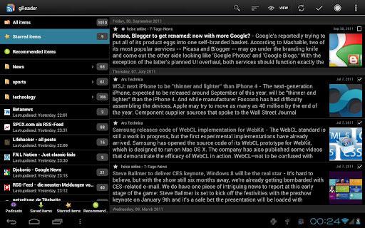 Obtener últimas noticias de páginas web con Android