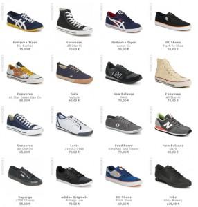 Tiendas de ropa y zapatos online