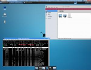 Screenshot xfce xubuntu escritorio remoto Ubuntu