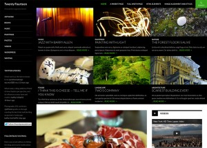 Twenty Fourteen nuevo tema de WordPress 3.8