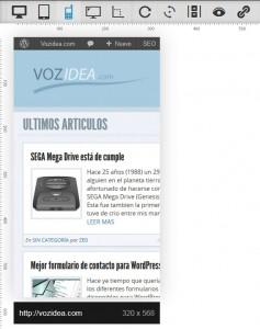 Previsualizar web como en dispositivo móvil