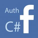 c# facebook icono