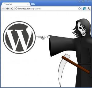 pantalla blanca WordPress