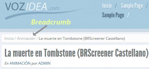 Implementar breadcrumbs en WordPress