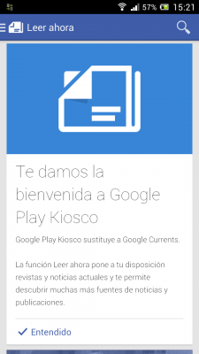 Adiós a Google Currents
