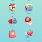 cuberto valentine day icons free