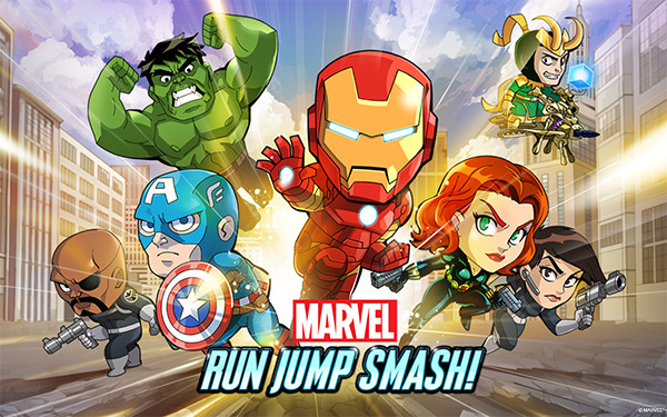 Marvel Run Jump Smash! para Android