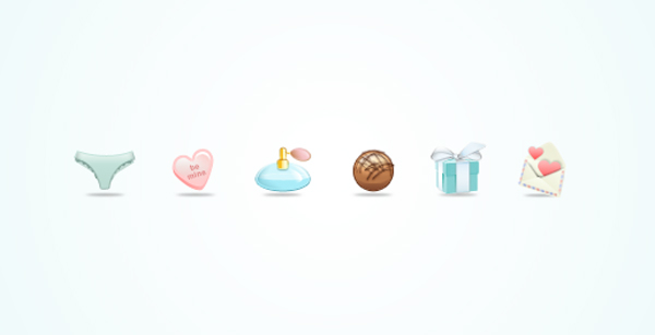valentine day icons free lea botwinick