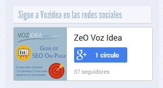 Cómo poner el badge de Google+