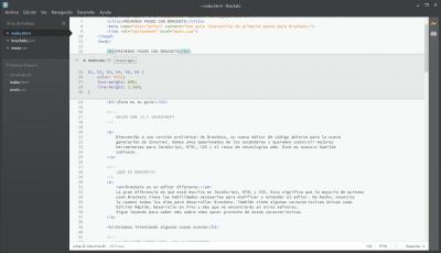 Edición del código CSS directamente desde el código HTML