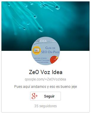 Pop-up de Google+ Badge no documentado
