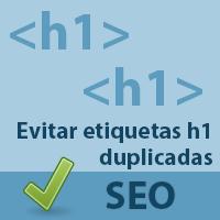 Evitar etiquetas h1 duplicadas en WordPress
