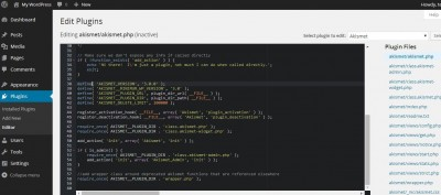 syntax highlighting wordpress