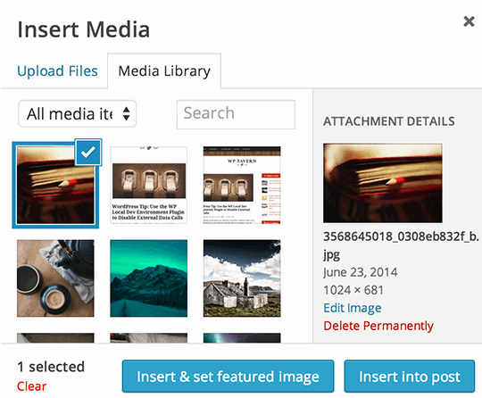 Asignar imagen destacada con instant featured image wordpress plugin
