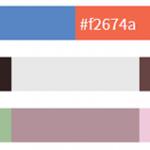 Paletas de colores en WordPress hover