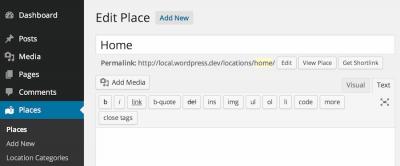 Plugin Stellar Places para mostrar lugares con Google Maps en WordPress