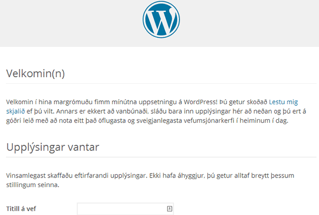 WordPress instalación multilenguaje