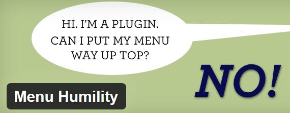 Ordenar los elementos del menú de administrador WordPress