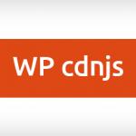 Plugin WP cdnjs para Wordpress