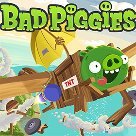 Bad Piggies el mecano de Rovio para Android