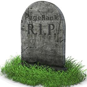Google probablemente no volverá a actualizar el PageRank