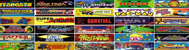 Nueva librería de juegos clásicos The Internet Arcade