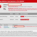 Malware SoakSoak WordPress