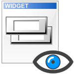 visibilidad de los widgets wordpress