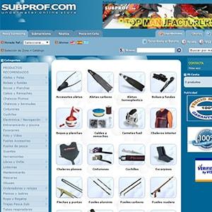 Experiencia de compra en Subprof.com