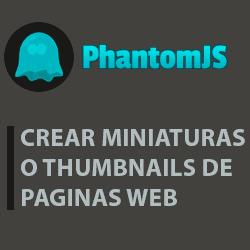 Como crear thumbnail o miniatura de página web