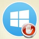 eliminar icono de actualizacion de windows 10