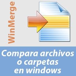 Herramienta para comparar dos archivos en Windows