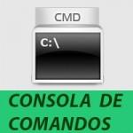 consola de comandos en windows cmd