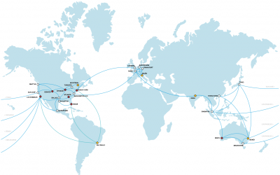 mapa de centro de datos de softlayer