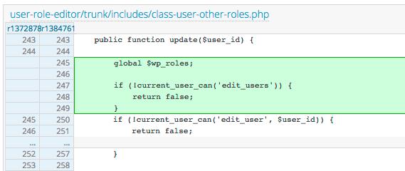 Vulnerabilidad en el plugin User Role Editor 4.24