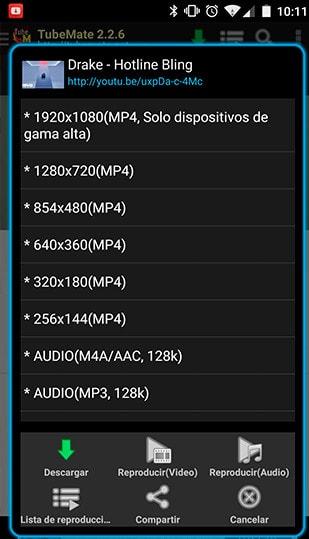 TubeMate para Android