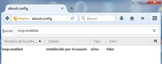 Desactivar Firefox Hello