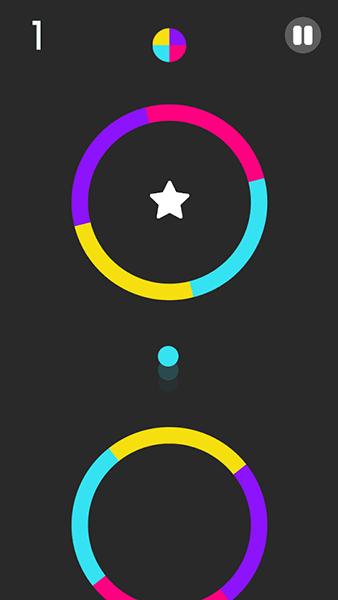 captura juego color switch