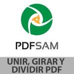 pdfsam unir girar dividir pdf