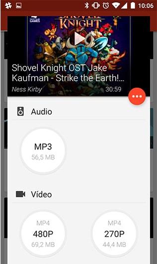 Videoder para Android