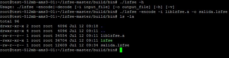 Como compilar LZFSE en Ubuntu