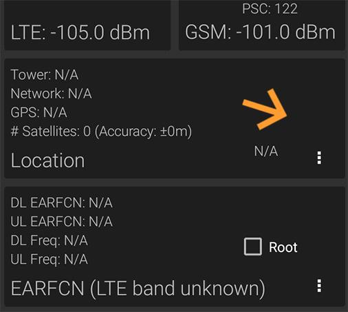 LTE Discovery banda desconocida