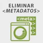 cómo eliminar metadatos