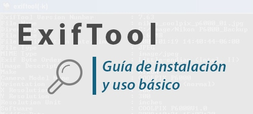 Cómo instalar ExifTool en Linux Ubuntu o Windows