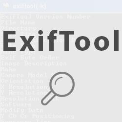 Cómo eliminar los metadatos con ExifTool