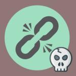 enlace roto icono