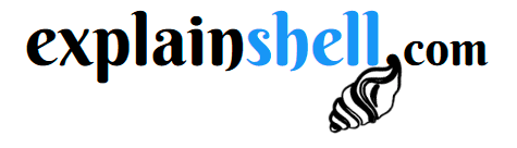 Explainshell logo