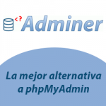 adminer gestor bases de datos
