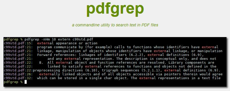 Cómo buscar en varios archivos PDF de forma simultánea con pdfgrep