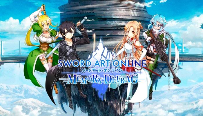 El RPG Sword Art Online: Memory Defrag disponible para Android